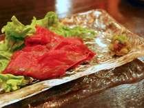 信州名物『馬刺し』!さっぱりとして美味しいお肉をお楽しみください♪