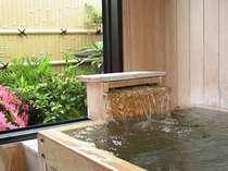 家族風呂:総檜造りの家族風呂は空いていれば何度でも入浴OK!気心知れた仲間と楽しい時間をお過し下さい!