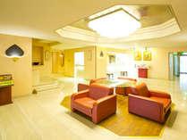 ホテルロビー 明るく綺麗な空間で良いひとときを