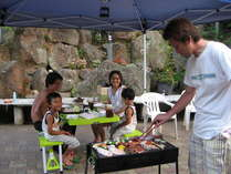 夏休み磯バーベキュープランは2泊されるお客様限定!美味しそうな磯の匂いが!楽しそうだね♪