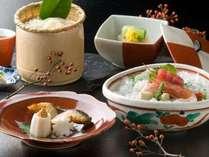 ■料理イメージ■新鮮な魚介、優しい味付けの炊合せ。美味しいタイミングでどうぞ