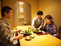 """【個室料亭 曙】全室、安心の""""個室""""。気兼ねなく、じっくりとお食事をご堪能ください"""