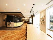 【インターゲートラウンジ】コーヒーやドリンク・軽食・お茶漬け等、時間帯に合わせ多様なサービスをご用意