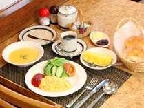 ★朝陽を浴びながら、ゆっくりと朝食をどうぞ