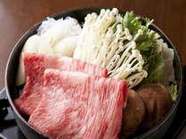【特選とちぎ和牛堪能♪】すき焼きプラン
