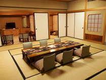 ☆とち旅♪五峰館特別室プラン食事部屋出し