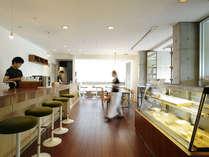 【カフェ】カフェだけを楽しみたい方にもお越しいただいている自慢のカフェです。