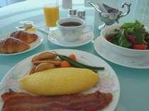 ルームサービスでのご朝食(一例)