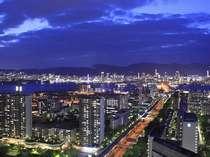 夜景イメージ(神戸市街地側)