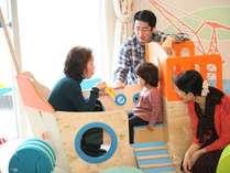 3世代でも楽しめるファミリー和洋室の遊具