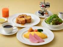 エッグ&フレンチトースト朝食 イメージ