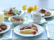 朝食バイキング セッティングイメージ