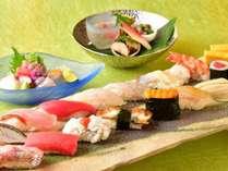 すし「すし萬」2016年夏のペアディナー 料理イメージ
