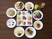 本館30階スカイグリルブッフェ「GOCOCU」 朝食イメージ