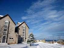 津軽の冬 絶景のウェスパ椿山
