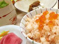 秋の味覚!おいしい鮭の親子丼