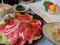 ビジネスパックの夕食イメージ※夕食の内容は多少異なることがあります。
