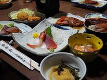 *箱根の地の物を生かした家庭料理をご提供いたします。
