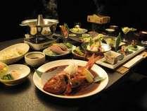 静岡そして河津にこだわったお野菜とお魚を中心としたメニューになります