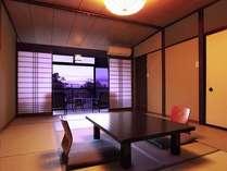 【スタンダート和室12畳】移りゆく景色を畳のお部屋でのんびりと・・・幸せの時間。