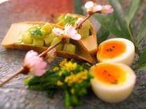 """『春』を彩る""""旬の食材""""をゆっくりとご堪能下さい♪"""