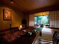 【露天風呂付き客室離れ】静粛な時を青湯とともに「心・体」共に美しく