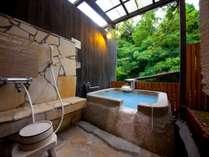 【母屋】客室露天風呂一例
