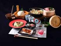 *お夕食一例/季節の旬と地元長野県産の食材を活かした郷土の味をご堪能下さい。