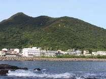 ★外観★オーシャンビューが嬉しい立地★東シナ海の景色を見ながら、皆様でのんびりお過ごし頂けます☆