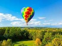 熱気球体験