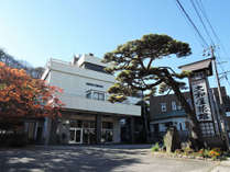 *【外観】明治37年、瀬波温泉の歴史は、当館から始まりました。