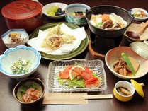 ◆新鮮食材に拘った夕食に舌鼓♪