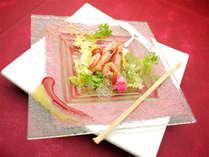 *【ご夕食 前菜一例】仕入れによってメニューは様々!型にはまらない創作フレンチをご堪能下さい♪