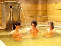 【大浴場・露天風呂】露天風呂は湯船も広々で大人気♪