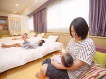 【客室/イメージ】ママも安心♪べビールーム☆