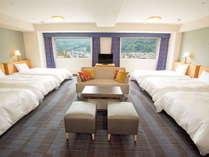 ご家族連れ、グループ旅行に最適♪6ベッドルーム(62平米)もリニューアル!