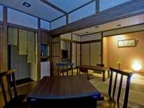 デザインルーム・黄昏の和:和室8畳+フローリング6畳 ν