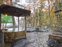 ◆混浴露天風呂/1日30万リットルの湯量が湧き出る、源泉かけ流しの温泉が自慢です。