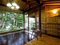 ◆男性専用露天風呂/赤谷の湯 10名様までOKの大きなお風呂。男性大浴場からご利用いただけます。