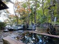 ◆混浴露天風呂/変わり種の大小6つのお風呂をご用意!※イメージ