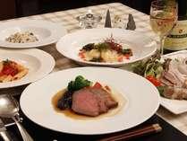 会津の食材と郷土食を生かしたお料理をお作り致しております。