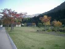 一里野温泉内の公園 お散歩コースにぴったりです