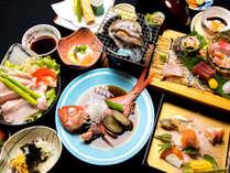 『海鮮膳』ホテルよしののスタンダードなお料理です