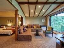 広々とした50平米の洋室ゲストルーム
