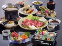 ≪本格和食会席(横岳会席)≫メインは当館一番人気の国産牛のお料理となっています♪