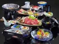 横岳会席(イメージ)メインは当館一番人気の国産牛のお料理となっています♪
