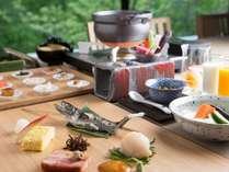 【1泊朝食】北海道産食材をふんだんに使用した「食の宿」の朝ごはん~出来立てのおいしさをどうぞ~