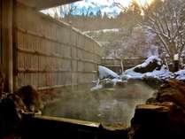 【冬の貸切露天風呂】『満天星の湯』(屋外にあるので秋冬は温かい服装でご移動下さい)