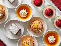 【朝食】シェフの手作りデザート