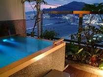 ~熱海の海と街の景色を満喫~露天風呂付客室【翠】kawasemiで過ごす温泉と料理を嗜む至福の休日☆